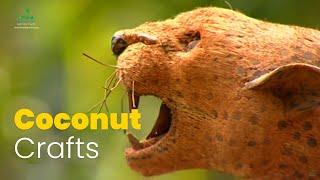 Coconut husk handicrafts