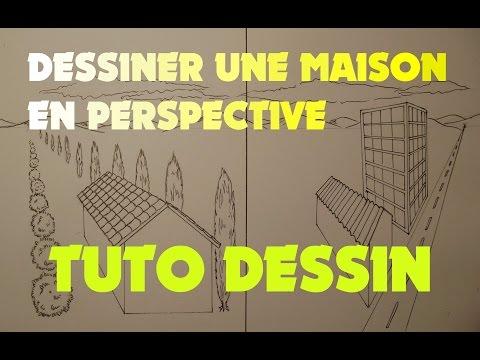 Dessin d 39 une maison en perspective page 1 10 all for Apprendre a dessiner une maison en perspective