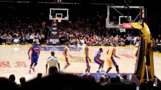 Pistons @ Lakers (Jan 2011)