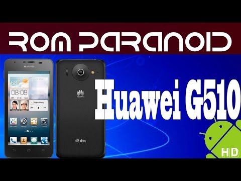 Rom Paranoid android 4.4.4 kitkat Huawei g510/Y300