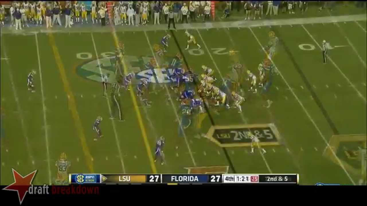 Dante Fowler Jr. vs LSU (2014)