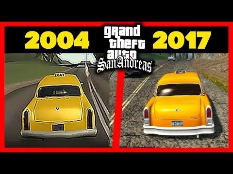 КАК ИЗМЕНИЛАСЬ НОВАЯ GTA San Andreas 2017: Сравнение с GTA SA 2004