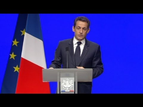 Sarkozy outlines plans for new French economy