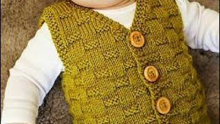 Easy Sweater for Kids/Sweater for Beginners/Simple Sweater Knitting Tutorial:Design-255