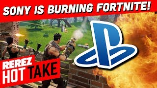 Sony is Burning Fortnite Fans! - Hot Take Game News