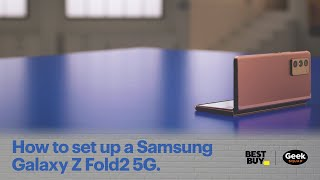 01. Tech Tips: How to set up a Samsung Galaxy Z Fold2 5G.
