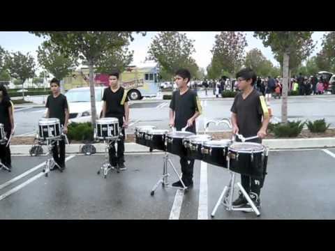 Rancho Cucamonga Middle School Drumline 2011