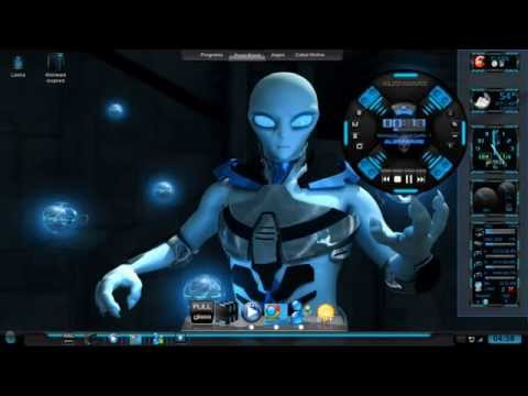 Tema Windows 7 Alienware