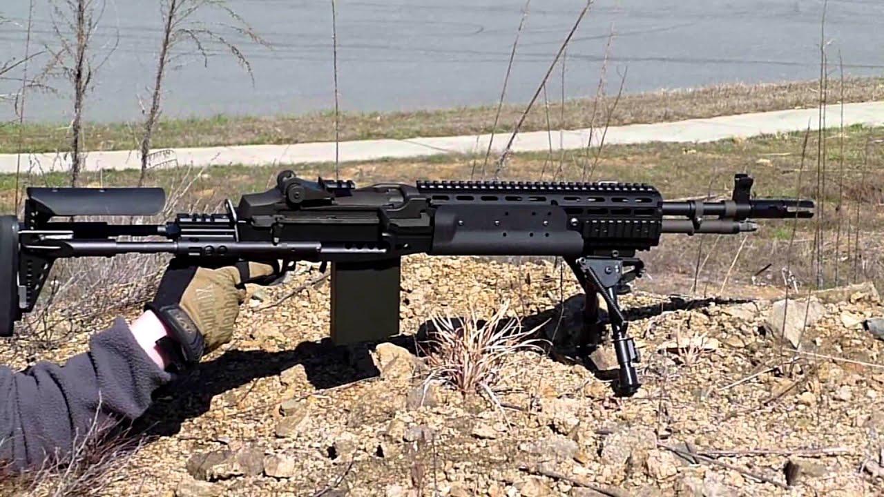 WE Airsoft M14 EBR Shooting - YouTube M14_ebr