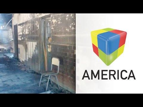 Vandalismo en Moreno: Saquearon e incendiaron un colegio