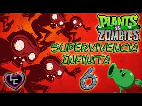 PLANTAS VS ZOMBIES táctica para supervivencia infinita) FINAL