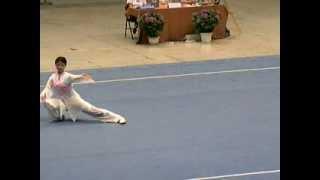 Dong Qing Taijiquan 06 2006 China Women 39 S Wushu National Qualifiers