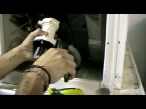 CAMBIO MOTOBOMBA DE DESAGÜE DE LA LAVADORA