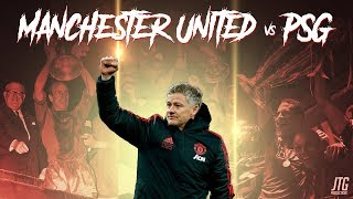 Manchester United vs PSG Promo - The Last 16