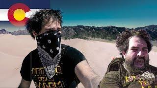 Speeding Down the Sand Dunes