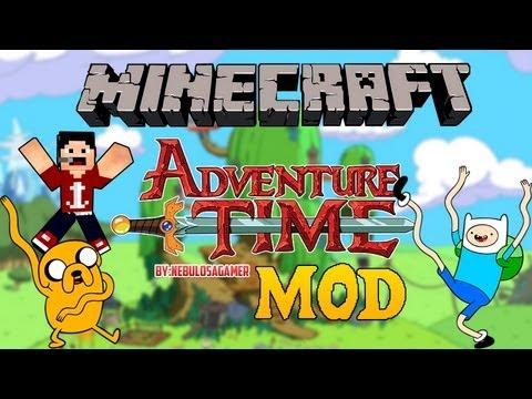 Minecraft 1.6.4 | Como instalar HORA DE AVENTURA MOD+MAPA+RESOURCE PACK(TEXTURA) - [Español (720p)]