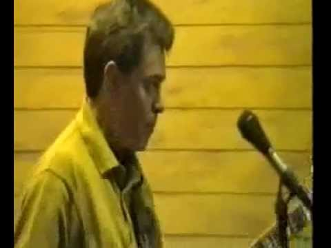 Bill Nelson in rehearsal 1989