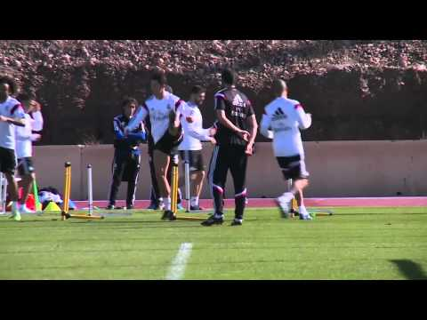 Real Madrid prepare for the Club World Cup final