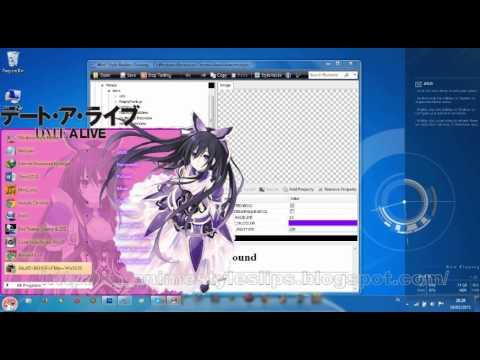 tutorial cara membuat tema anime start menu bag1