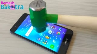 Asus Zenfone 3 Max Screen Scratch Test Gorilla Glass