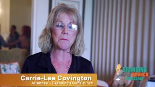 Carrie Lee Covington Testimonial  - Faith James Branding Over Brunch Workshop