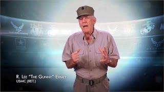 R. Lee Ermey to Employers: Hire a Veteran Today!