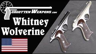 Whitney Wolverine: Atomic Age Design in a .22 Rimfire