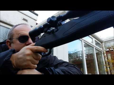 Umarex Hammerli 850 Air Magnum Vs Pop-Up Ducks - Having fun on low gas (outdoor temp 7 deg C)