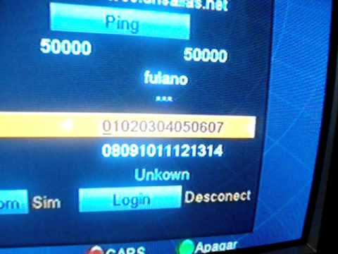 Configurando servidor de CS nos Azamerica s808. s809. s812