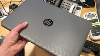 HP Stream 14-inch Laptop 2018 Unboxing and Teardown  - $249 Windows 10 PC
