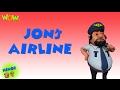 John's Air Line - Motu Patlu in Hindi - 3D Animati