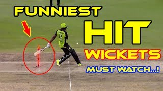BEST Direct Hit RunOuts in Cricket History Ever..!! | Most funniest HIT wickets EVER in cricket