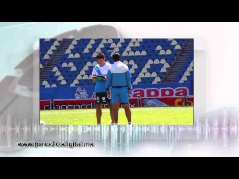 Puebla  1er entrenamiento con el Chelis