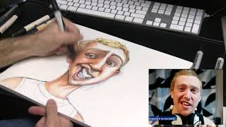 Star Sketch: Tejbz Caricature
