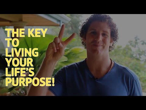 The Key Tip to LiveYour Mission and Follow Your Purpose - Starting Now!