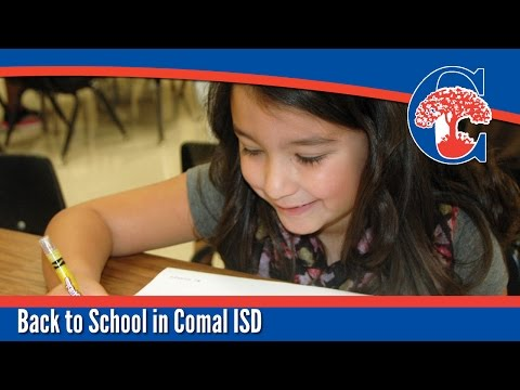 First Day of School - 2014 - Comal ISD