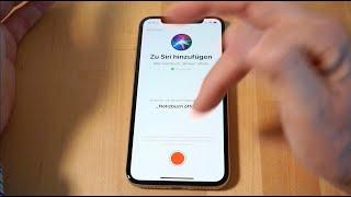 iOS 12: Siri Kurzbefehle (Shortcuts) erklärt und vier Beispiele (u.A. Evernote und Noteshelf)