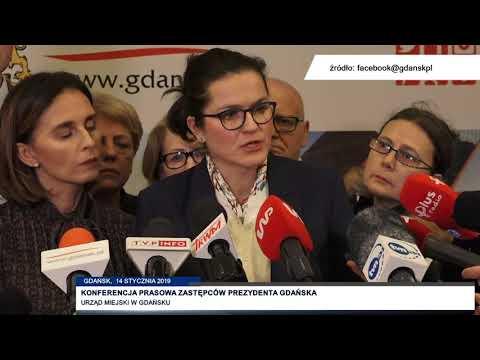 Konferencja Prasowa Zastępców Prezydenta Gdańska