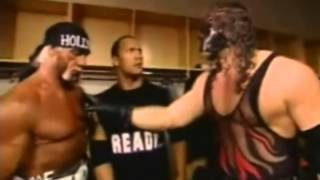 Kane imitates Hulk Hogan and The Rock Very Funny Promo