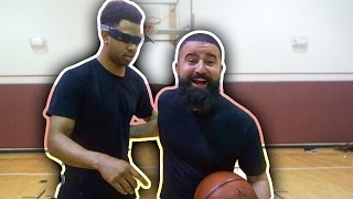1 VS 1 EXTREME BLINDFOLD CHALLENGE!! TRASH TALKER IS BACK!!! (GONE WRONG)