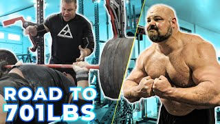 500LB BENCH PRESS | BODYBUILDING UPDATE?