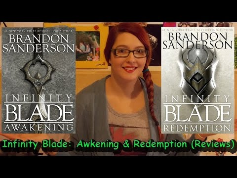 Infinity Blade: Awakening & Redemption by Brandon Sanderson (book reviews) #booktubesff