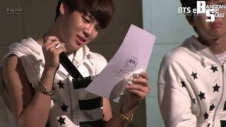 [ENG] 131019 [EPISODE] BTS Letter to ARMY in Birthday party