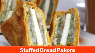 Bread Pakora recipeHow to make Paneer Potato Bread