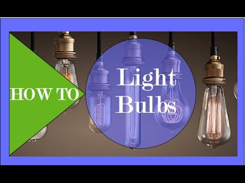 How To Select Light Bulbs Interior Design Youtube