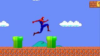 Super Spiderman Bros 3D