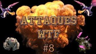 Clash of Clans - Attaques WTF #8 ( Dragon-Pekka-Golem)