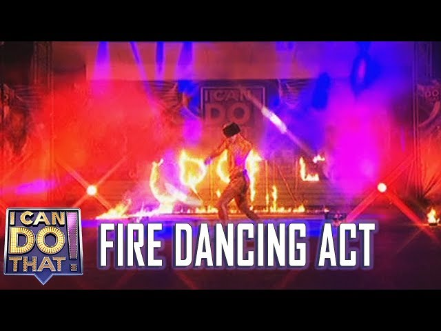 I Can Do That Finale: Fire Dancing Act | Cristine Reyes