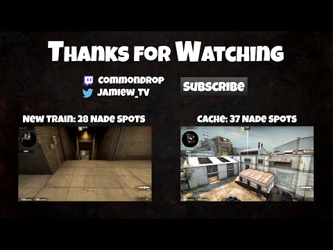 CS:GO Nade Spots - Top Easy Spots for Dust2, Inferno and Cache - My Favourites
