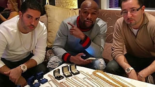 Floyd Mayweather Goes Jewelry shopping drop over 300,000 on Diamonds